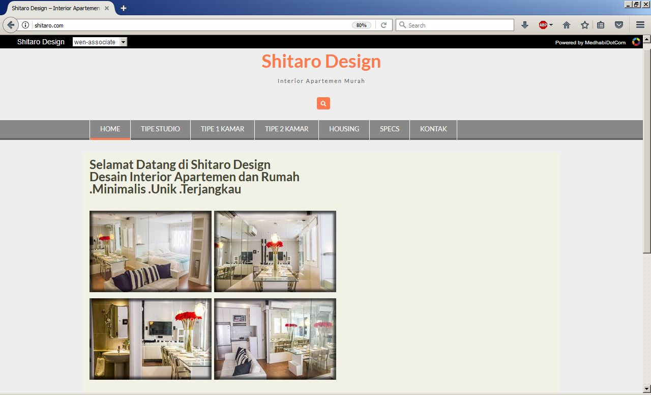 shitaro design website